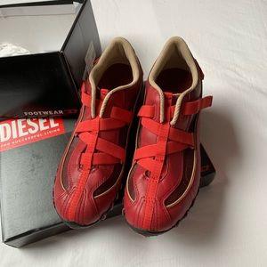 Diesel slip on walking shoes, new, size 7